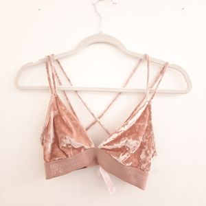 Victoria's Secret PINK Unlined Bralette size Small